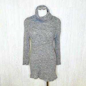 Free People | Turtleneck Sweater Dress/Tunic Sz. S